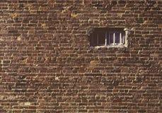 окно стены кирпича малое Стоковая Фотография RF