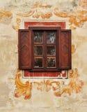 окно стены фрески традиционное Стоковое Изображение RF