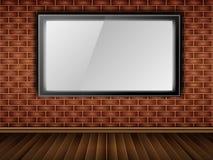 окно стены lcd кирпича Стоковая Фотография RF