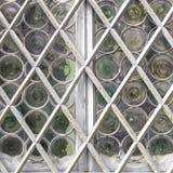 Окно с белой решеткой Стоковые Изображения RF