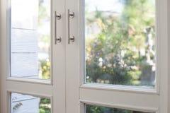 Окно с садом Стоковая Фотография
