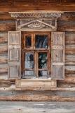 Окно с штарками стоковое изображение rf