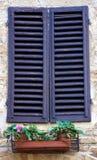 Окно с штарками Стоковые Фотографии RF
