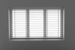 Окно с шторками Стоковое Фото
