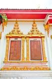 Окно тайского виска Стоковое фото RF