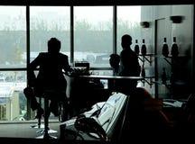 окно тени Стоковое Фото
