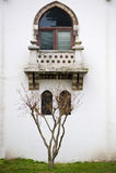 окно террасы Стоковые Изображения