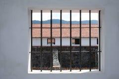 Окно тюрьмы Стоковые Изображения RF