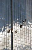 окно уборщиков промышленное Стоковое фото RF