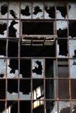 окно фабрики старое Стоковое Фото