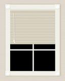 окно цвета слоновой кости Стоковое Изображение