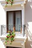 Окно цветка стоковое изображение