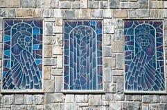 Окно цветного стекла Стоковое фото RF