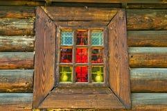 окно церков старое Стоковые Изображения