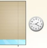 окно часов Стоковые Изображения RF