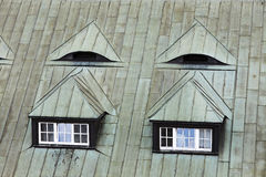 Окно чердака Окно крыши Стоковые Изображения RF