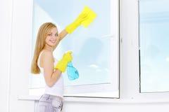 окно чистки Стоковое фото RF