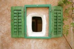 окно штарок дома старое Стоковая Фотография RF