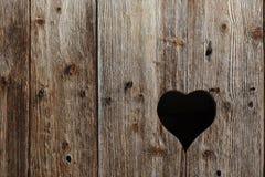 Окно любит форма сердца Стоковое Изображение RF