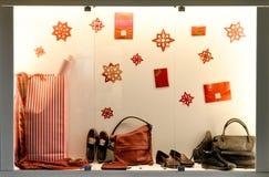 Окно дисплея бутика в Spaim Стоковая Фотография RF