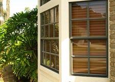 окно 010 заливов переднее Стоковая Фотография