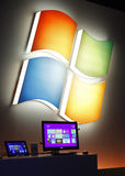 окно 8 предваротельных просмотров Майкрософта Стоковые Изображения RF