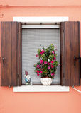 Окно Burano Стоковое Изображение RF