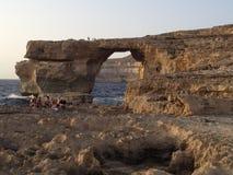 Окно Dwejra Стоковое Фото