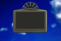 окно gps автомобиля Стоковое Изображение
