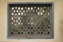 окно liuyuan парка Стоковая Фотография