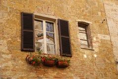 Окно Mediterrenian Стоковые Фотографии RF