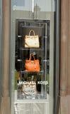 окно michael kors дисплея Стоковые Фотографии RF