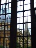 окно radcliffe камеры стоковое изображение