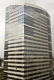 окно raindrops здания предпосылки Стоковое Изображение RF