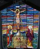окно roldanillo церков Стоковые Фото