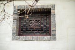 Окно ` s Китая старое стоковые изображения