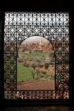 окно telouet стоковое фото