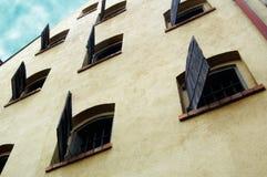 окно torun штарок дома старое Стоковые Фото