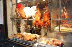 окно york ресторана города chinatown новое Стоковые Фотографии RF