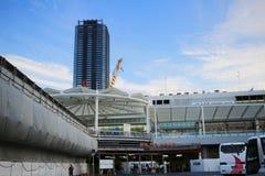 около станции Хиросимы на 2016 Стоковые Фото