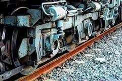 локомотивное колесо Стоковые Фотографии RF