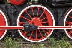 локомотивный старый пар Стоковые Фото