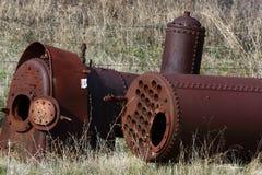 2 локомотивных боилера стоковое изображение rf