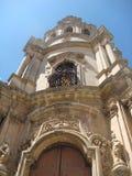 Оконечность барочной церков St Joseph к Рагузе Ibla увиденному нижней частью Сицилия Италия стоковые фотографии rf