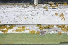 Оконная рама огорченная погодой Стоковое фото RF