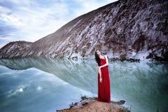 Около озера льда Стоковые Фотографии RF