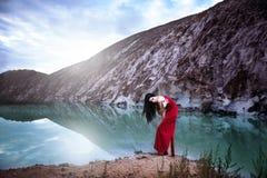 Около озера льда Стоковое фото RF