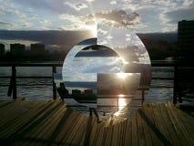 Около озера Стоковое Фото