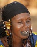 Женщина этнического Fulani Стоковое фото RF