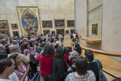 Около Mona Лизы (Joconda) стоковое фото rf